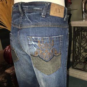 ARMANI EXCHANGE bootcut jeans size 36